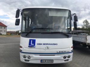 szkoła nauki jazdy autobusy