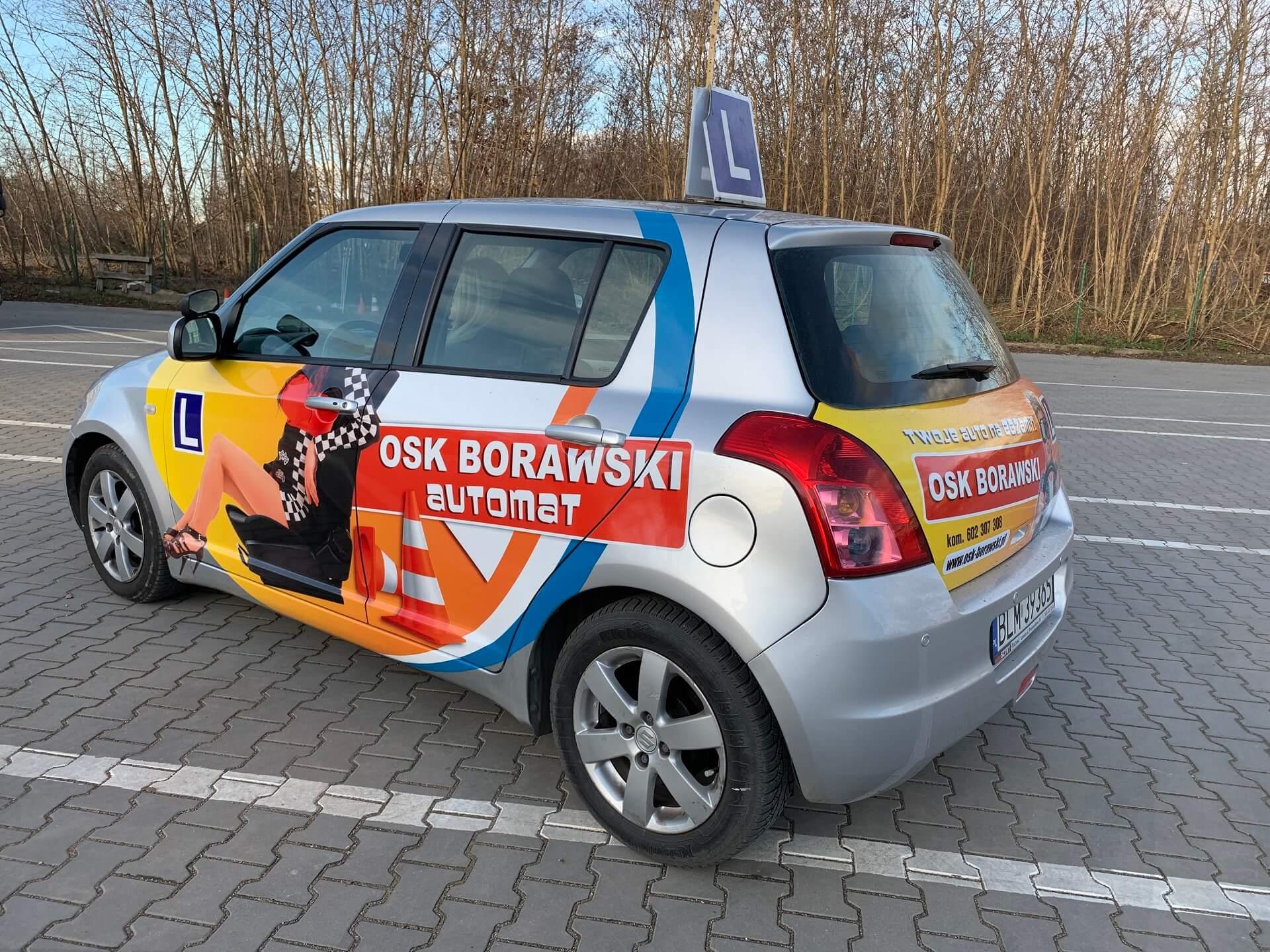 szkoła jazdy osk borawski